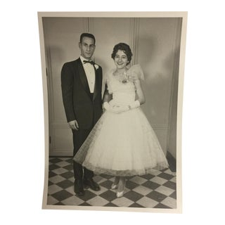 1950s Wedding or Prom Photo For Sale