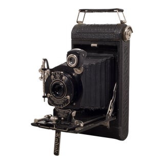 "Antique Eastman Kodak ""No. 1 Pocket Kodak"" Folding Camera C.1922 For Sale"