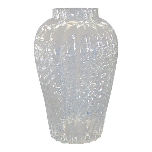 Tiffany Co Oriental Crystal Glass Flower Vase Chairish
