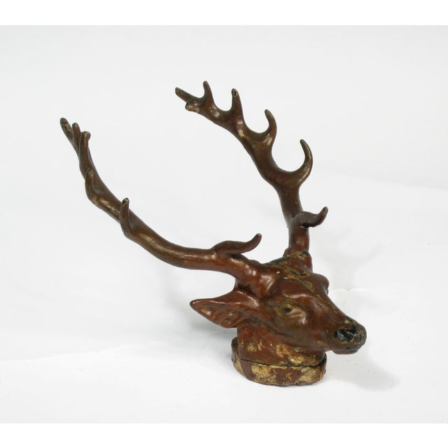 Antique Cast Iron Deer Hook - Image 3 of 6