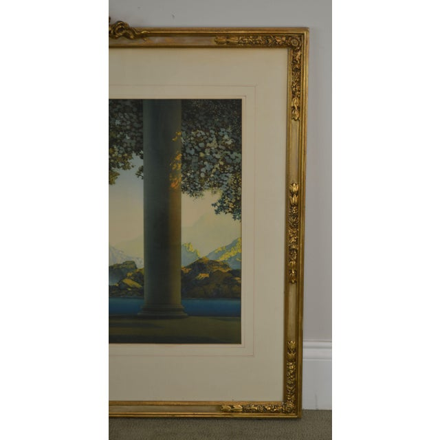 "Maxfield Parrish ""Daybreak Vintage Framed Print or Lithograph For Sale - Image 12 of 13"