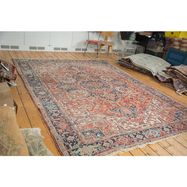 Vintage Heriz Carpet- 8′2″ × 11′ - Image 2 of 8