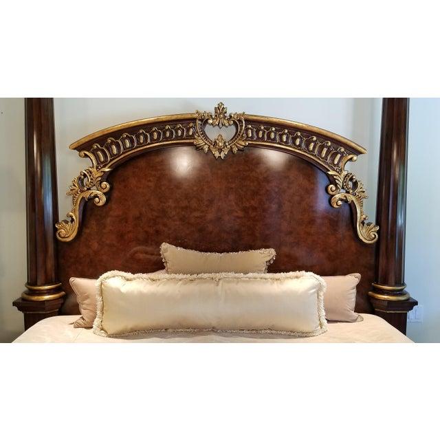 Traditional Henredon Arabesque Bedframe For Sale - Image 12 of 13
