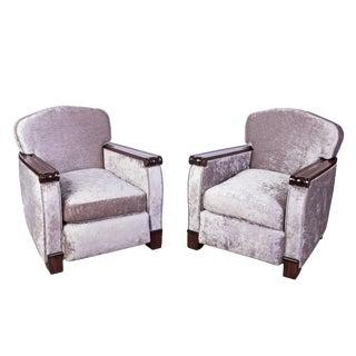 Gaston Poisson Club / Armchairs - a Pair For Sale