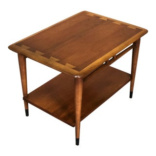 Lane Acclaim Mid-Century Modern Walnut Side Table