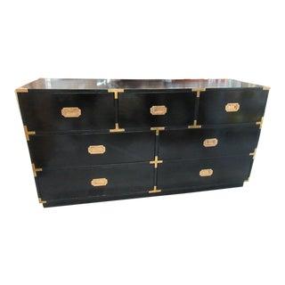 Black Campaign Dresser