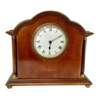 Antique French Desk Clock For Sale