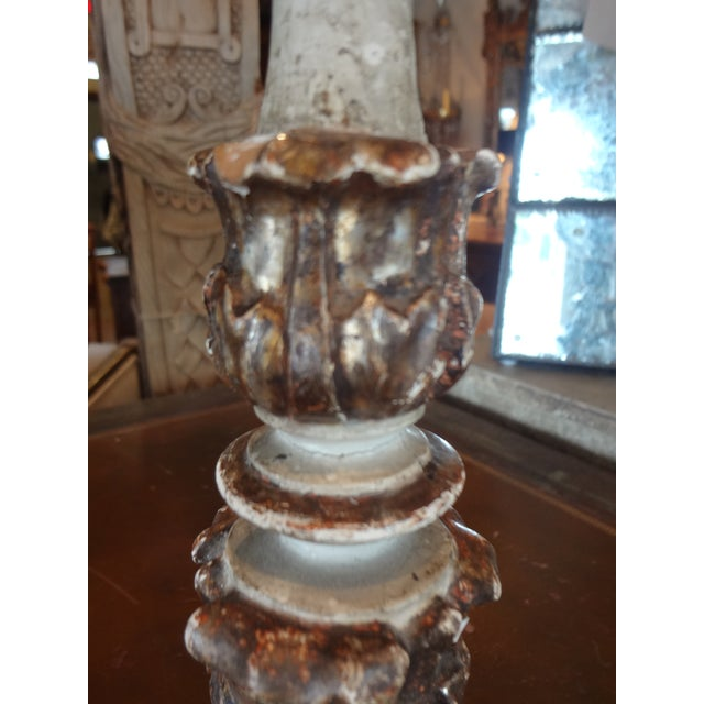 19th Century Italian Candle Holder, Pair For Sale In New Orleans - Image 6 of 10