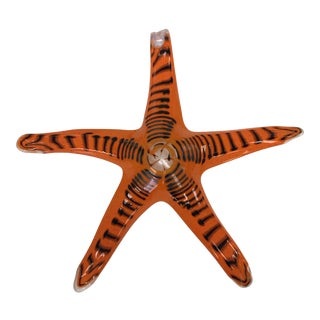 Italian Murano Glass Starfish For Sale
