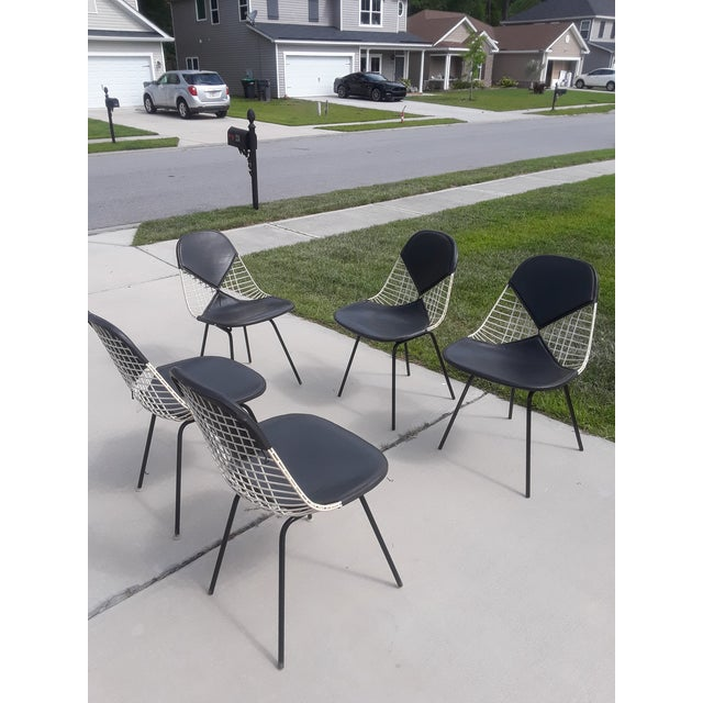 Metal Mid-Century Herman Miller Ames Chairs - Set of 5 For Sale - Image 7 of 7
