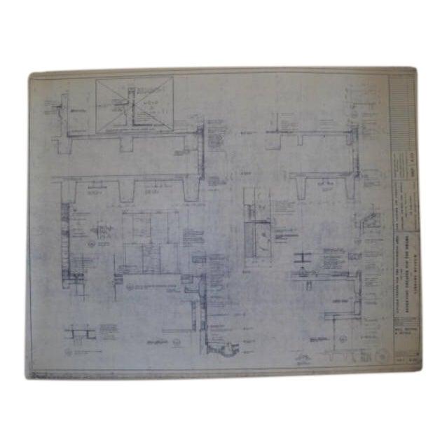 NYC Saarinen 1962 Lincoln Center Blueprint - Image 1 of 5