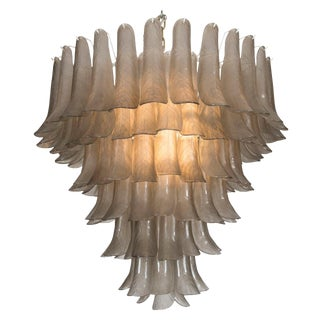 Large Petal Ceiling Fixture For Sale