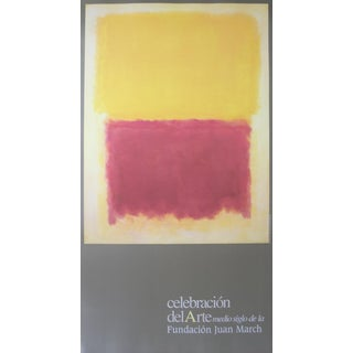 Mark Rothko, Beige, Yellow and Purple, Offset Lithograph, 1997 For Sale