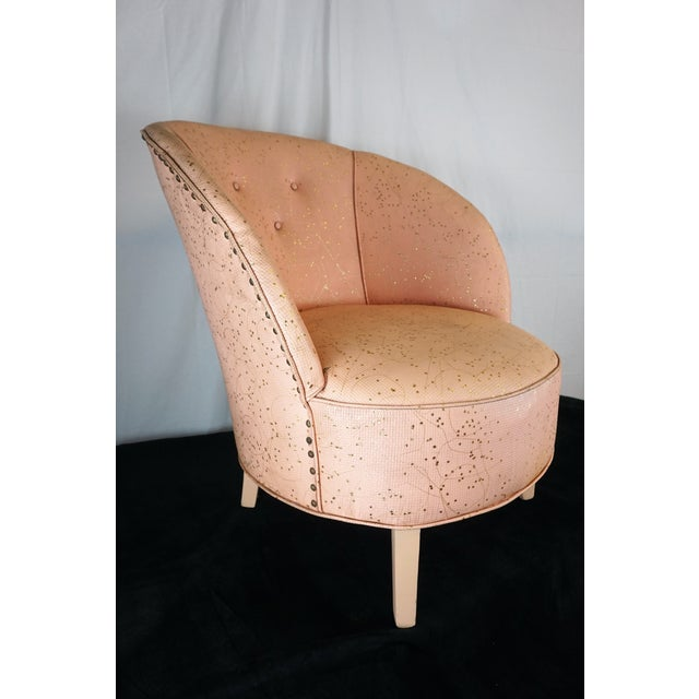 This chair actually looks like a shell. Make sure you get a picture of yourself in it and you will look like Venus...