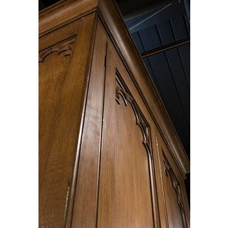 English Gothic Armoire Preview