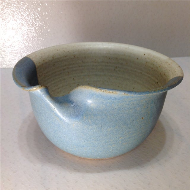 Vintage Handmade Pinched Bowl - Image 2 of 7