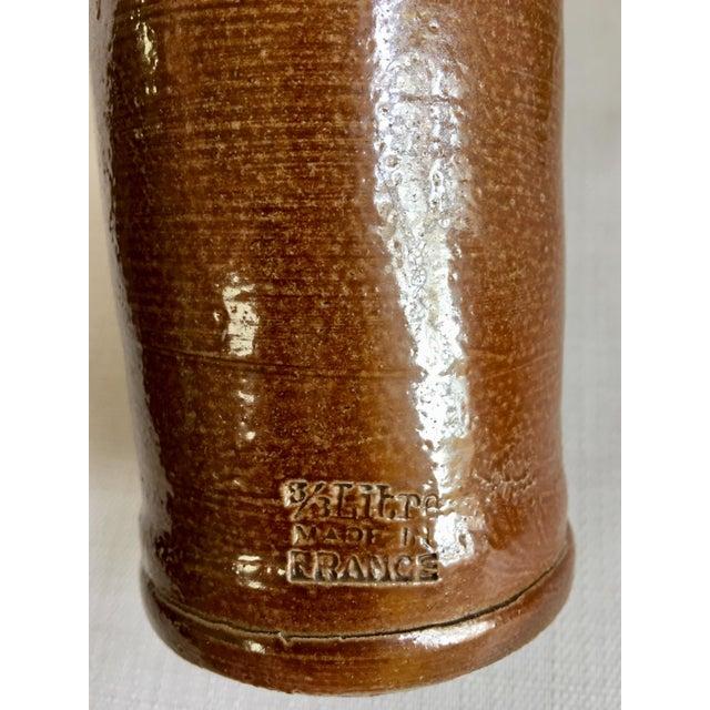 Vintage Neutral Stoneware Bottles - Set of 4 For Sale - Image 9 of 11