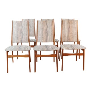 Schionning & Elgaard Dining Chairs- Set of 6 For Sale