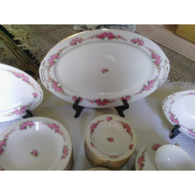 Orion Fine China Dinnerware Set - 89 Pieces - Image 6 of 11