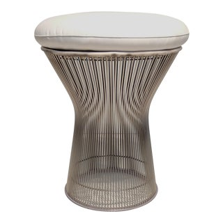 1960s Mid-Century Modern Warren Platner for Knoll Stool For Sale