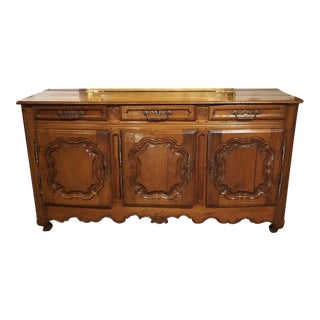 Antique Oak Enfilade from Lorraine France, 1700s