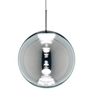 Tom Dixon Globe 50cm Pendant Chrome For Sale