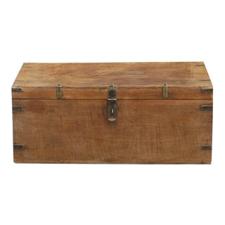 British Colonial Teak Chest