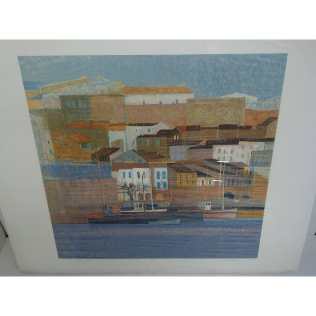 """Mediterranean """"Peniscola II"""" by Bourrie For Sale - Image 3 of 8"""