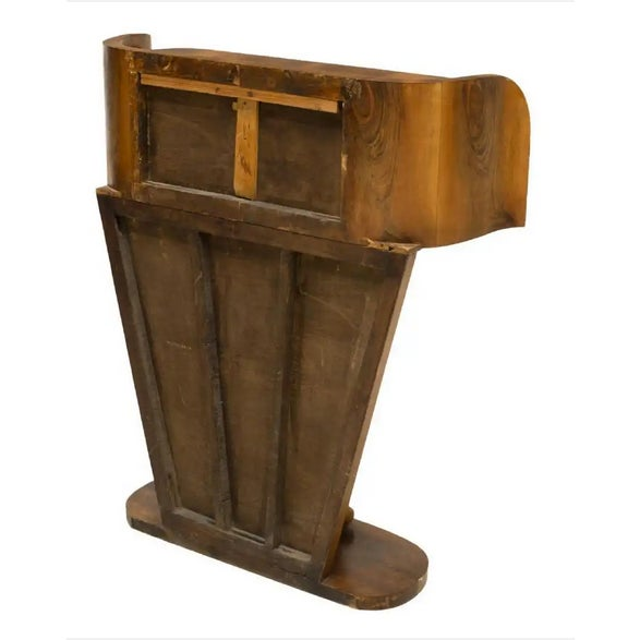 Art Deco 1930s French Art Deco Streamline Moderne Console For Sale - Image 3 of 12