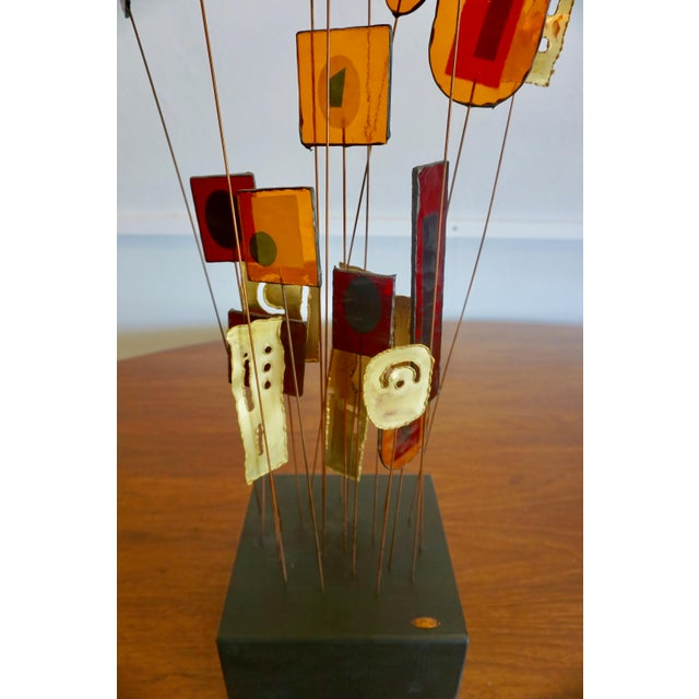 1960s Kinetic Abstract Sculpture Bt Curtis Jere For Sale - Image 5 of 8