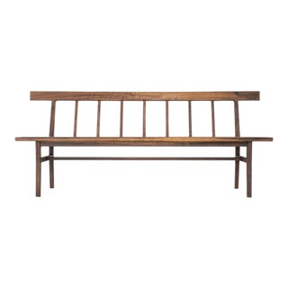 Shaker Windsor Style Bench For Sale