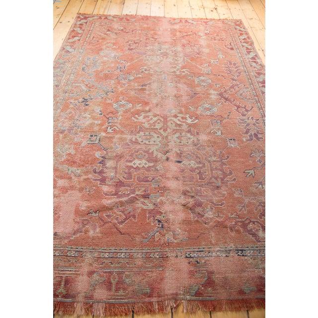 "Distressed Oushak Carpet - 5'4"" X 8' - Image 5 of 9"