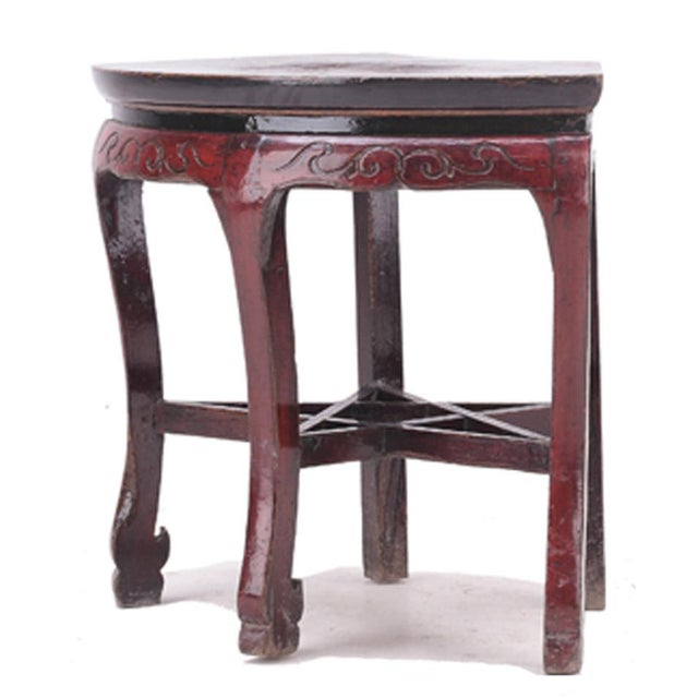 C. 1800 Chinese Side Table - Image 3 of 4