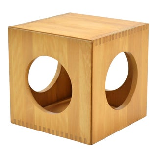 Jens Quistgaard Cube End Tables by Richard Nissen For Sale