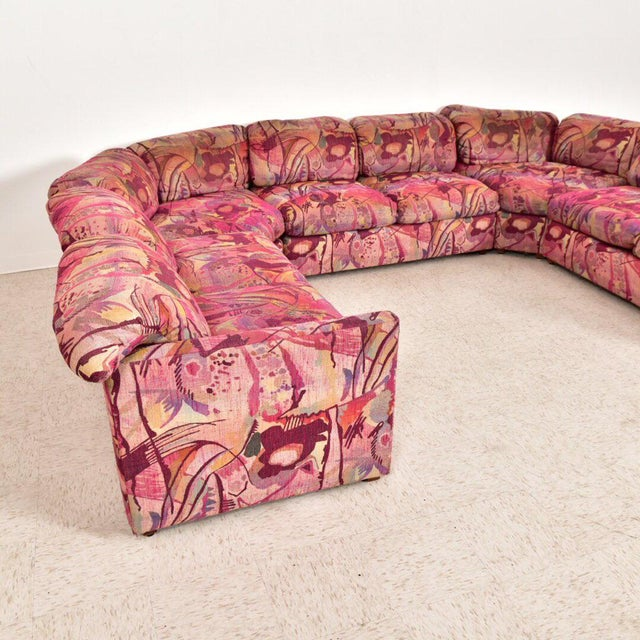 Vintage 1980's Miami Beach Sectional For Sale - Image 4 of 10