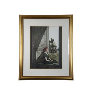 """1950s Vintage Andrew Wyeth """"Christina Olson"""" Collotype Print For Sale"""