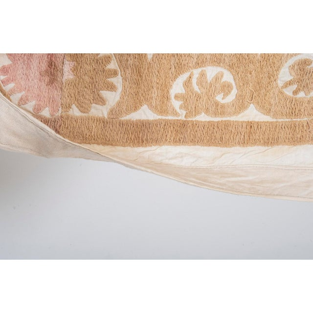 """Tribal Embroidery Wall Decor, Suzani Bedspread 8'2"""" X 11'6"""" For Sale - Image 10 of 13"""