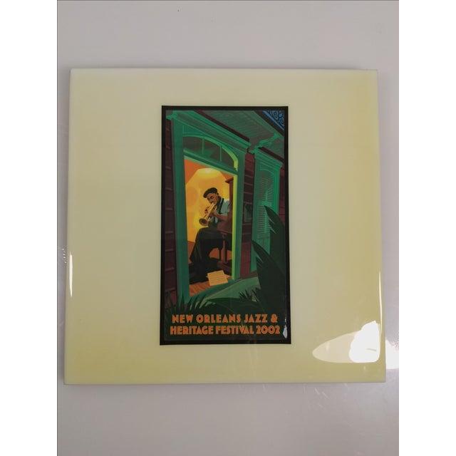 2002 New Orleans Jazz Festival Poster Art Tile - Image 3 of 5
