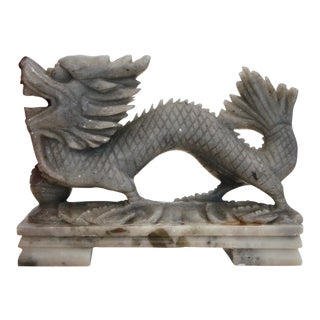 Carved Soapstone Dragon