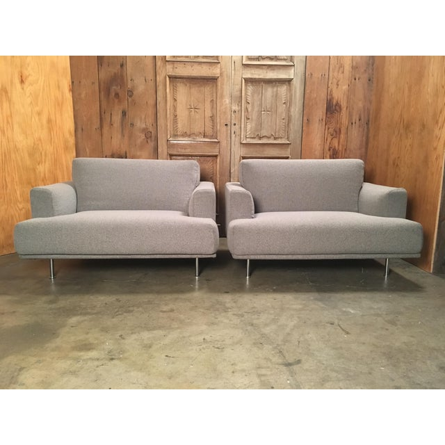 "Late 20th Century Piero Lissoni for Cassina ""253 Nest"" Chairs- a Pair For Sale - Image 13 of 13"