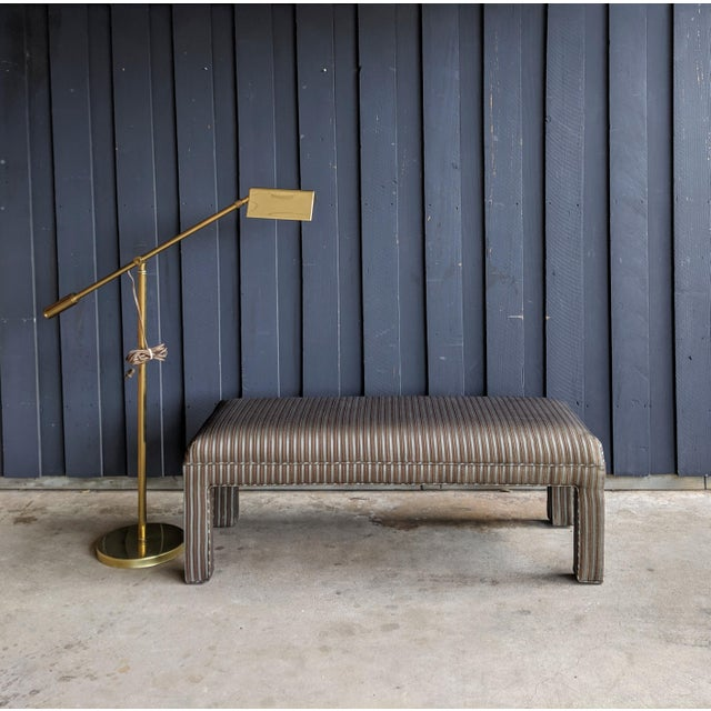 1980s Contemporary Parsons Bench For Sale - Image 10 of 12