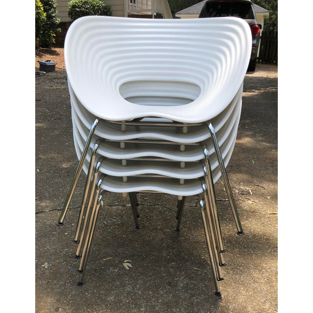 Tom Vac Ron Arad by Vitra Chairs - Set of 5 For Sale - Image 11 of 12