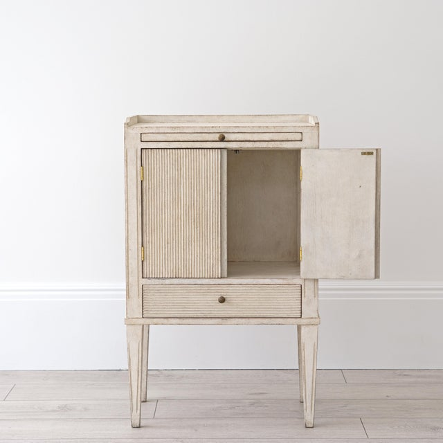 Pair of Lotta Gustavian Style Nightstands For Sale - Image 9 of 13