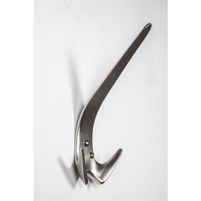 Carl Auböck Carl Auböck Model #4056 Nickel-Plated Hook For Sale - Image 4 of 13
