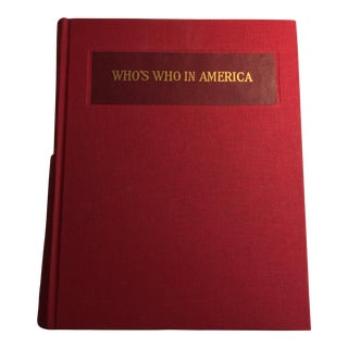 """Who's Who in America"" 1928-1929 Vol. 15 Book For Sale"