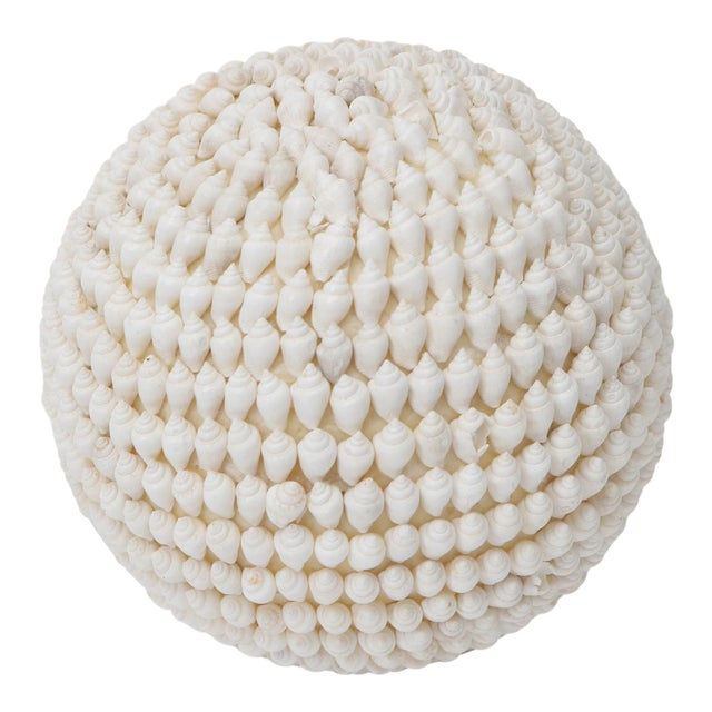Shell Encrusted Sphere For Sale