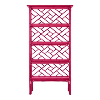Chippendale Etagere - Bright Pink For Sale