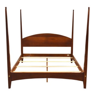 Ethan Allen American Impressions Solid Cherry King Bed For Sale