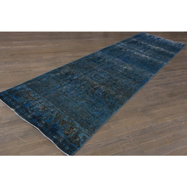 21st Century Modern Overdyed Rug For Sale - Image 4 of 6