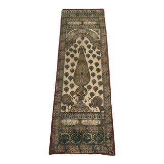 Persian Paisley Woodblock Printed Textile Wall Hanging For Sale